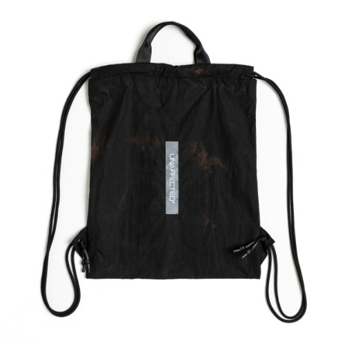 [UNAFFECTED] Logo Label GYM Sack (Magma Black)
