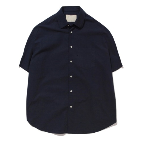 [POTTERY] Short Sleeve Comfort Shirt (Navy)