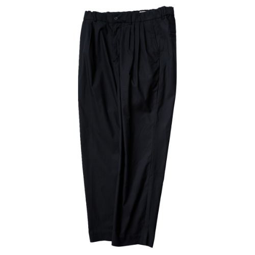 [STILL BY HAND] 4 Tuck Slim Tapered Pants (Ink Black)