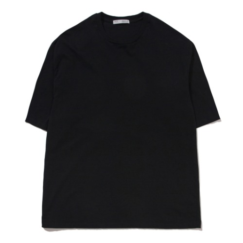 [POTTERY] Short Sleeve Basic T-Shirt (Black)
