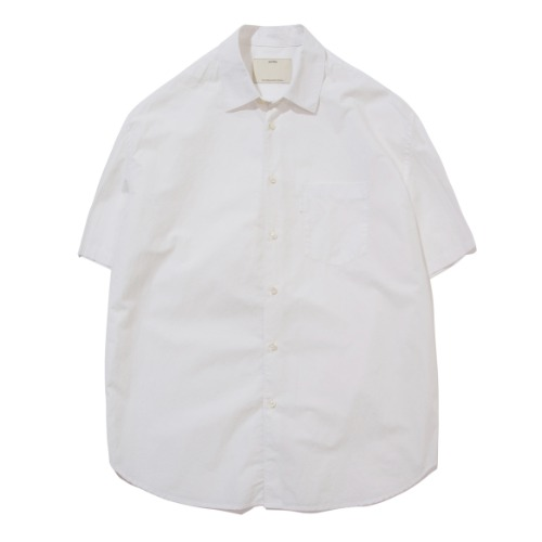 [POTTERY] Short Sleeve Comfort Shirt (White)