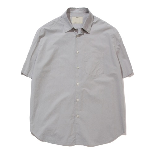 [POTTERY] Short Sleeve Comfort Shirt (Silver)