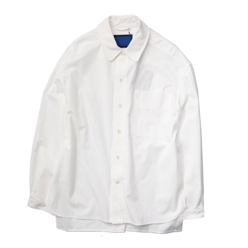 [DOCUMENT] The Document Set Up Shirt (White)
